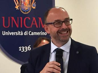Il Rettore dell'Università di Camerino incontra gli studenti delle classi di Chimica