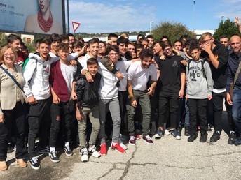 Studenti del Mattei al cinema con Simone Riccioni
