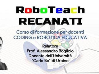 20-21 dicembre: CoderDojo Recanati e IIS E.Mattei organizzano RoboTeach