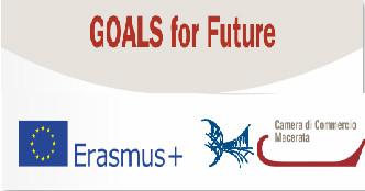 """Bando """"Goals for Future""""-Erasmus+: Scadenza presentazione domanda 06 novembre, ore 13,00."""
