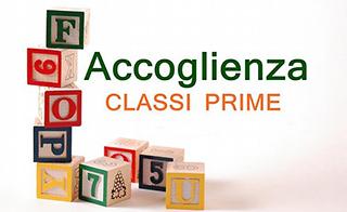 Progetto Accoglienza Classi Prime: programma