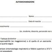 Disposizioni inerenti la gestione di eventuali casi COVID - Riammissione a Scuola