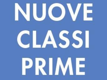 a.s.2017-18: On Line la composizione delle classi prime