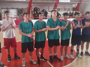 Primi classificati ai Campionati Sportivi Studenteschi di Basket - Fase Provinciale.