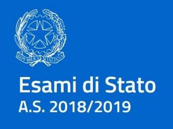 Esame di Stato 2018-19: on-line pagina dedicata
