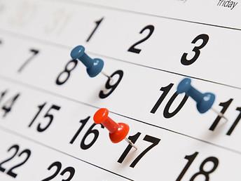 Calendario Scrutini Primo Quadrimestre modificato