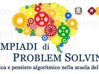 Olimpiadi Problem Solving: nostro studente alla Finale Nazionale
