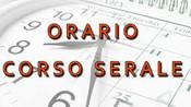 Orario delle lezioni - Corso Serale- da lunedì 4 ottobre 2021