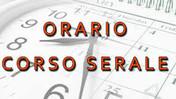 Orario delle lezioni - Corso Serale- da lunedì 27 settembre 2021