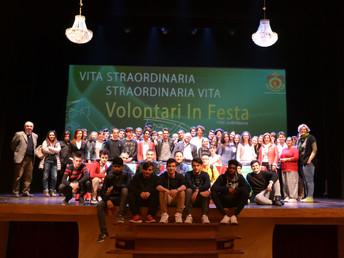 """""""Straordinaria vita/vita straordinaria"""" - volontari in festa"""