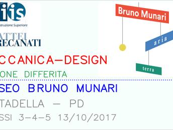 Meccanica-Design: lezione al Museo Bruno Munari