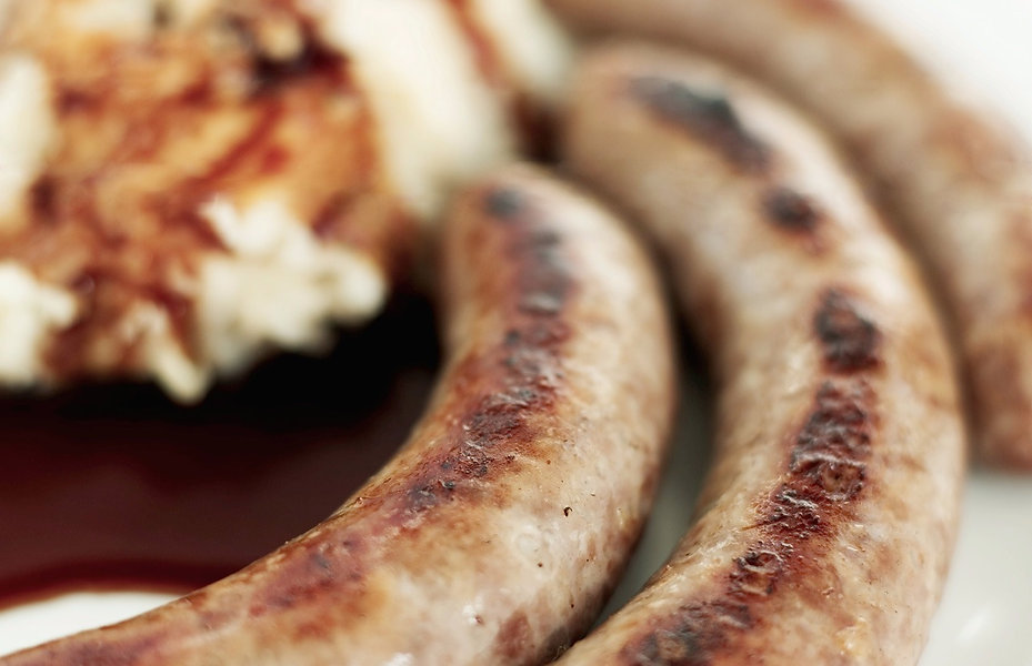 house made fresh brats from traditional recipes at modern German dining restaurant
