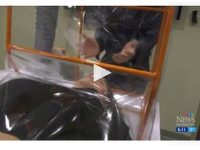 Edmonton company creates device to protect against COVID-19 aerosols during intubation - CTV News