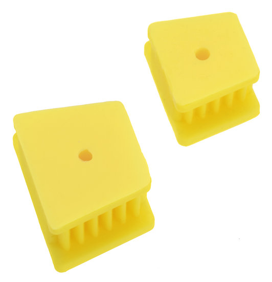 MOUTH PROPS SILICON YELLOW