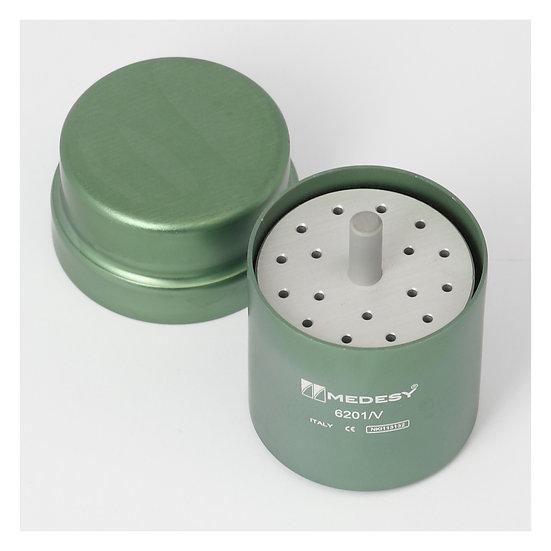 ENDODONTIC BOX ALUMINIUM GREEN