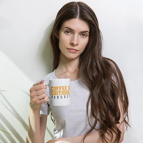 Coffee and Critique - Mug