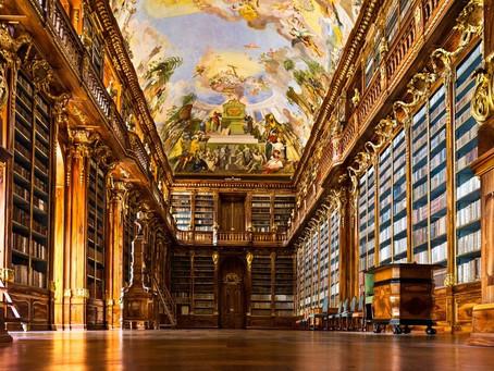 Oltre i ponti di Praga: Klementinum Library