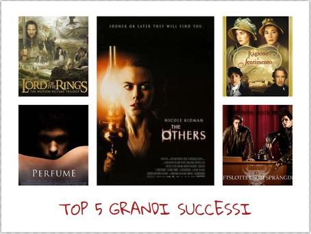 Dal libro al film: top 5 dei grandi successi