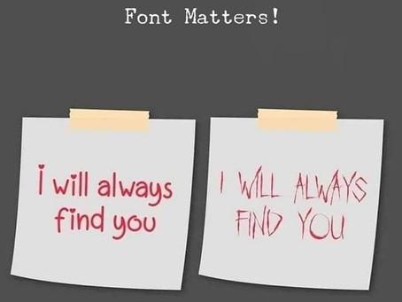 """Tono e font: la """"voce"""" in scrittura e comunicazione"""