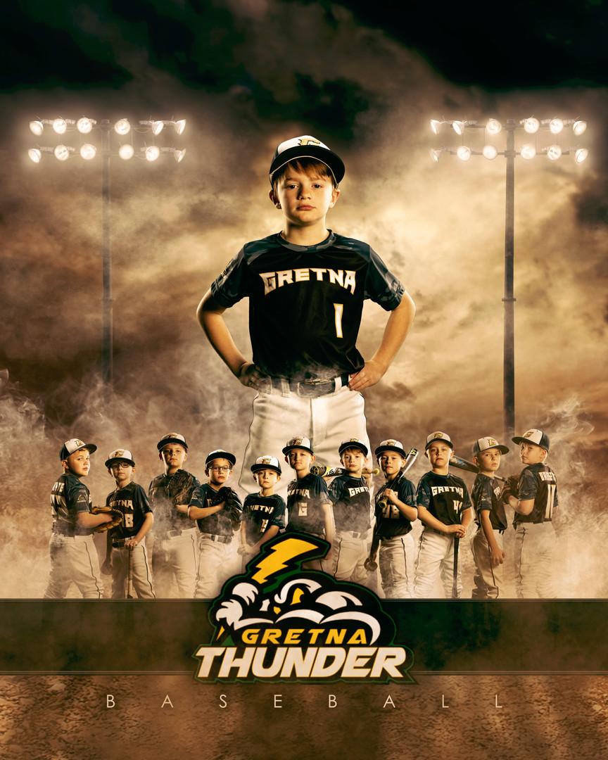 Grenta Thunder Baseball Player