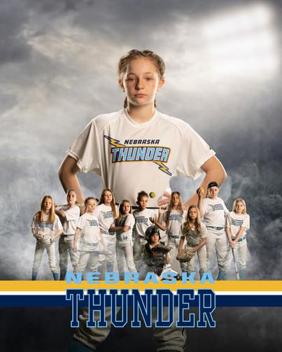 Nebraska Thunder Softball Player