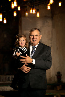 Granddaughter and Grandpa | Omaha Family Photographer