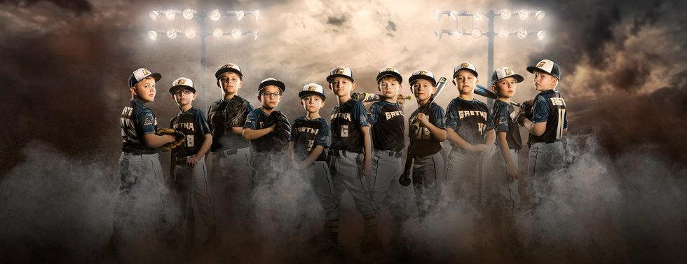 Generic Omaha Baseball Banner