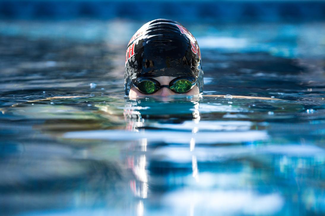 Senior Boy Photography | Sports - Swimning