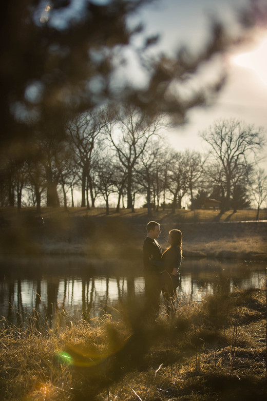 Engagement Session   Standing Bear Lake