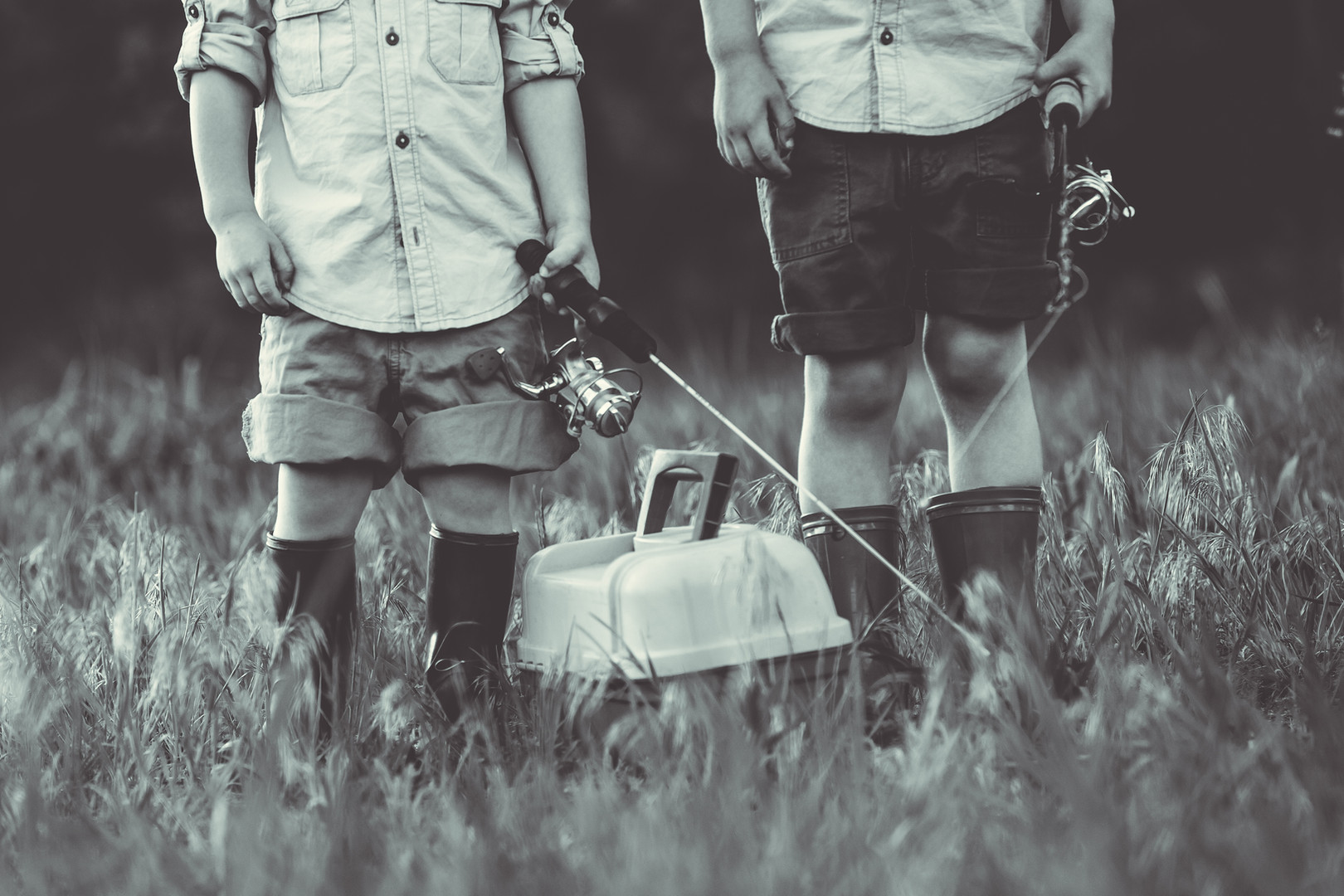 Fishing Photo Shoot | Family Photograher
