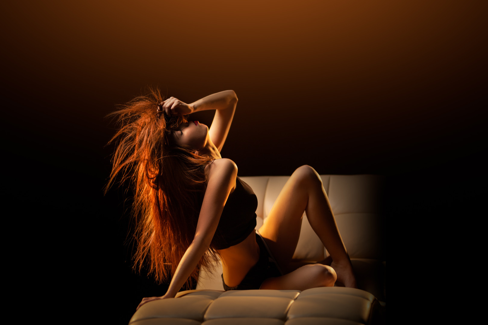 Model Photography   Red Hair