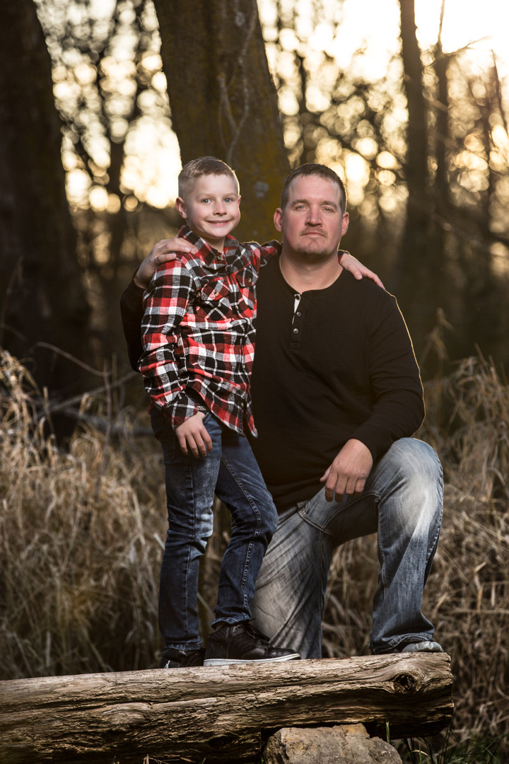 Father and Son | Outdoor Photo Shoot