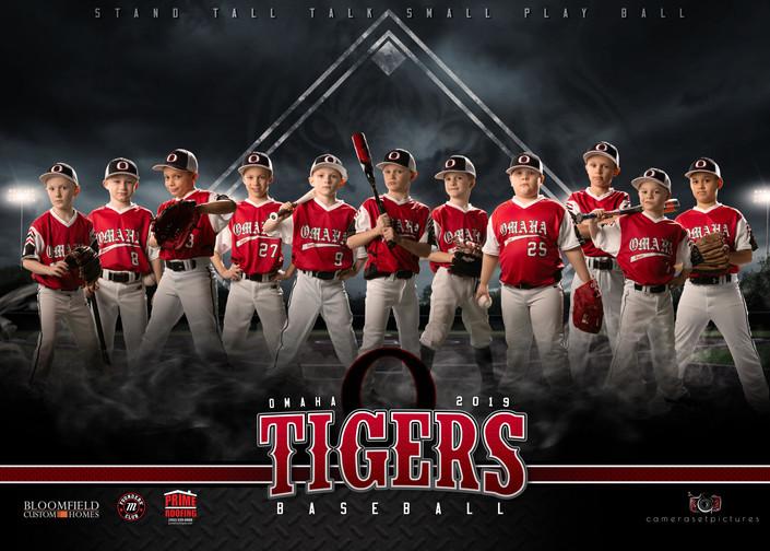Omaha Tigers Team Banner