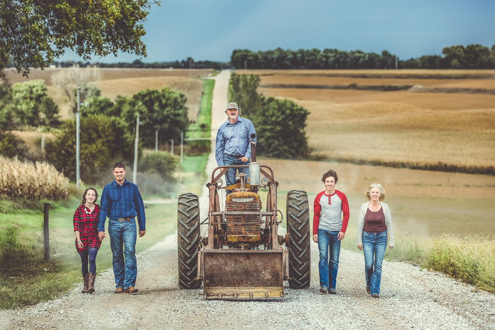 Farm Family Photography | Omaha Photographer