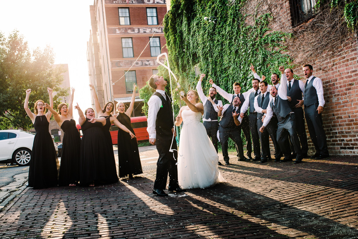Wedding Party   Downtown Omaha