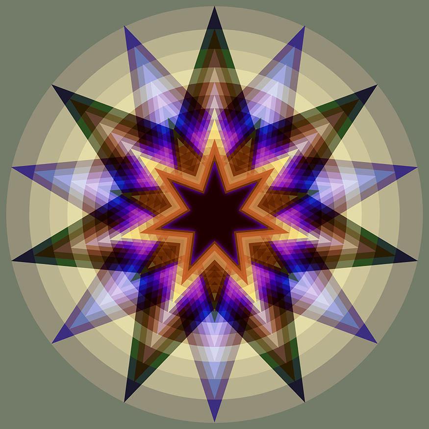 Seven 13 Seven Based Circles and StarsFL
