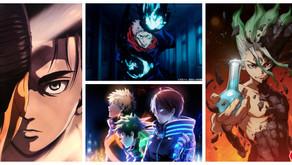 ¡Attack on titan, Jujutsu Kaisen, My Hero Academia, Dr. Stone y más animes tienen noticias!