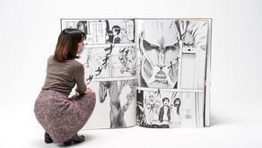 """Shingeki no Kyojin quiere romper un nuevo Récord Guinness: """"Tener el manga más grande""""."""