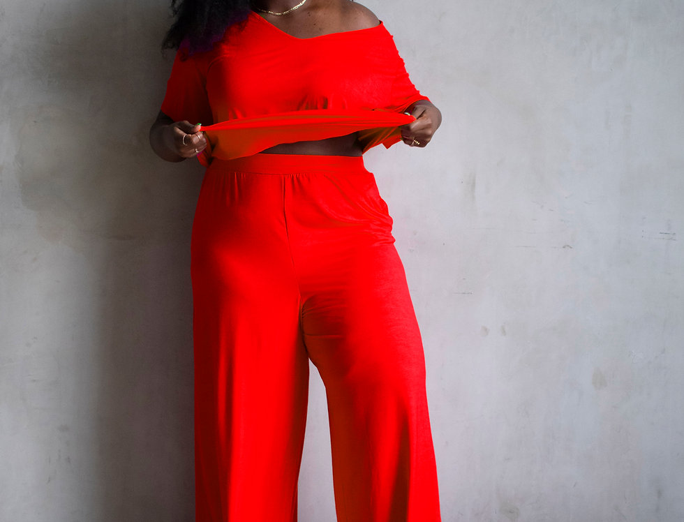 Red Hot Leisure Pant