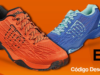 Zapatillas Wilson 44,95€ Utiliza tu Código: WilsonX5