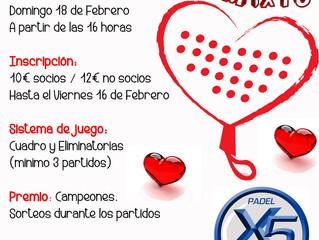 Torneo San Valentín 2018