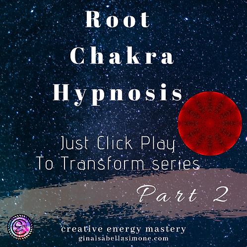 Root Chakra Healing Hypnosis Audio