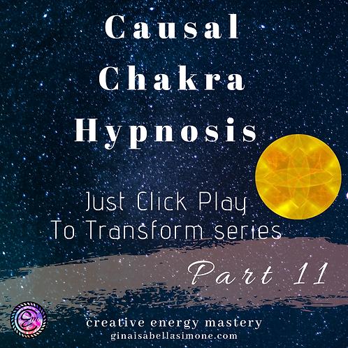 Causal Chakra Healing Hypnosis Audio