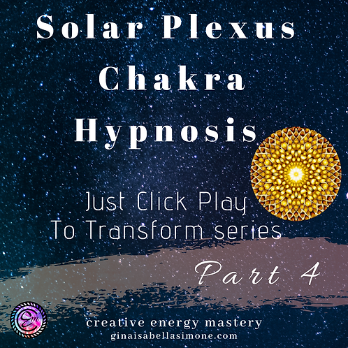 Hypnosis for self confidence and personal power. Healing for the Solar Plexus