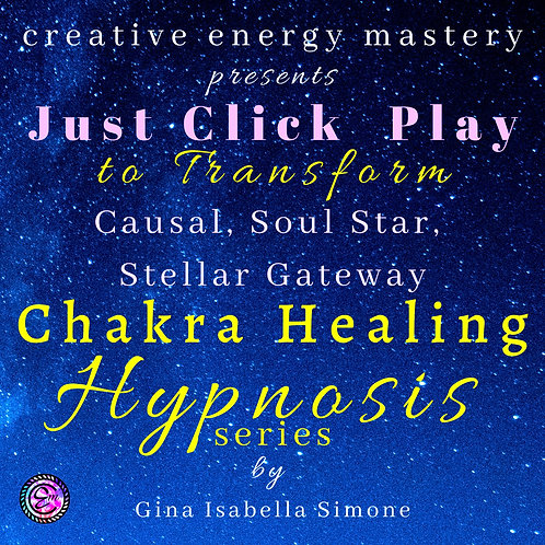 Hypnosis for sleep and healing for Causal Chakra, Soul Star Chakra and Stellar Gateway