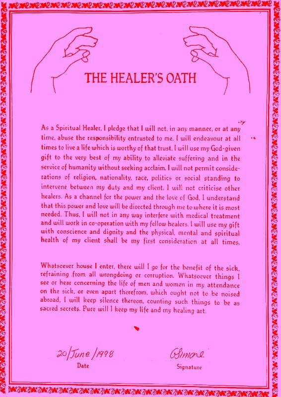 Healer's Oath