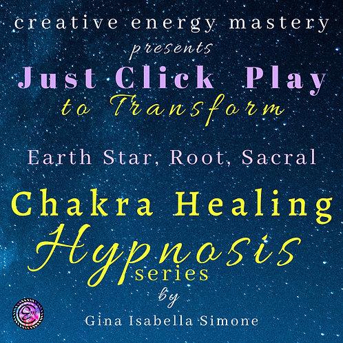 Part1-3 Chakra Healing Hypnosis Series