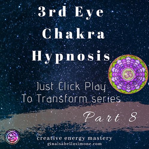 3rd Eye Chakra Healing Hypnosis Audio