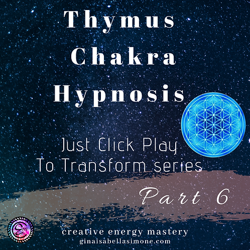 Thymus Chakra Healing Hypnosis Audio