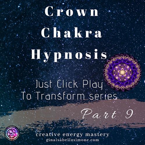 Crown Chakra Healing Hypnosis Audio